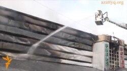 Пожар в крупнейшем бильярдном клубе