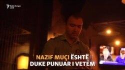 Kamerieri punon i vetëm në kafiteri pas tërmetit në Durrës
