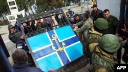 Захоплення Штабу військово-морських сил України в Севастополі, 19 березня 2014 року
