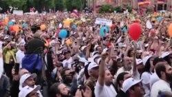 В Армения празднуют избрание Пашиняна премьер-министром
