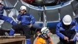 «Ат-Башы» ГЭСинин №3 гидроагрегаты.