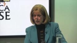 Перед активістами і студентами виступила американський експерт Павлина Добрянська (відео)