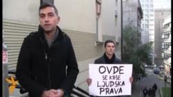 Srbija - Mladi upozoravaju: Ovde se krše ljudska prava