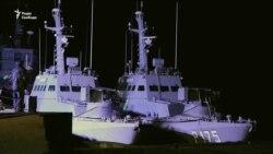 Зламався літак: Зеленський вночі зустрічав українські кораблі – відео