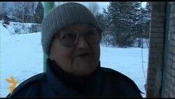 Пенсионерка из деревни Цепели