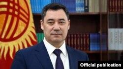 Президент Садыр Жапаров.