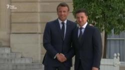 Зустріч президентів України і Франції – відео