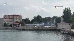 Пожежа в Севастопольському дельфінарії (відео)