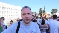Ярославль. Алексеев на сходе