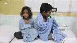 Відео очевидця: хімічна атака в Східній Гуті забрала життя дитини (відео)