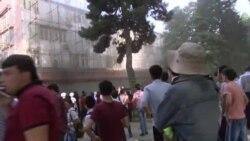 """В Душанбе произошел пожар в знаменитом кафе """"Мерве"""""""