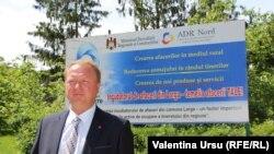 Radu Urechean, primarul satului Larga, raionul Briceni, iunie 2020.