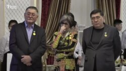 Медали журналистам от их Союза