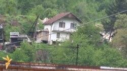 Klizište nedaleko od Sarajeva