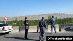Кыргыз-тажик чек арасы. 2021-жылдын 29-апрели.