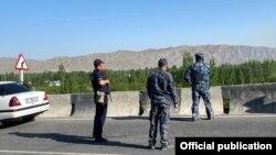 تاجکستان او قرغزستان ترمنځ پوله