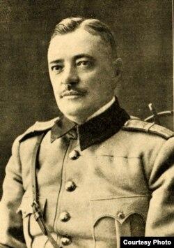 Generalul Ernest Broșteanu/ Sursa: Gh. V. Andronachi, Albumul Basarabiei în jurul marelui eveniment al unirii, Chișinău, 1933