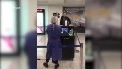 სიცხის გასინჯვა აეროპორტში