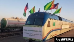 افتتاح خط آهن میان افغانستان و ترکمنستان