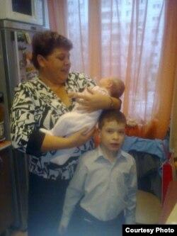 Наталья Гудкова до трагедии с внуками