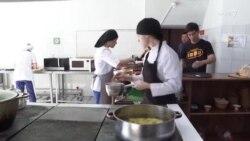 یک کافه متفاوت در قزاقستان