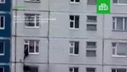 Пожар в Нижневартовске