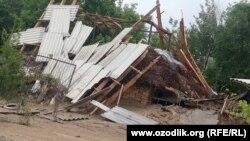 В результате прорыва дамбы Сардобинского водохранилища были разрушены тысячи домов.