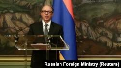 Armenian Foreign Minister Ara Aivazian