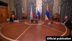 Ռուսաստանի, Հայաստանի և Ադրբեջանի ԱԳ նախարարների բանակցությունները, Մոսկվա, 9-ը հոկտեմբերի, 2020թ.