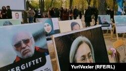 Аллея фотографий российских граждан, погибших в результате репрессий