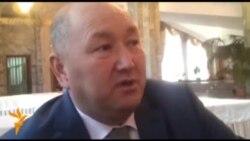 Разаков: Баткен облусун жоюуга каршыбыз