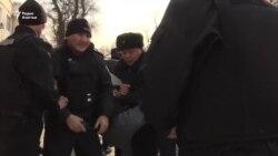 Два протеста в Алматы. Задержания. Хроника 22 февраля