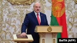 Первая в истории Беларуси: как прошла тайная инаугурация Александра Лукашенко (фотогалерея)
