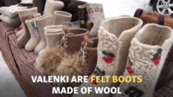 Siberian Valenki Maker Fills Dead Men's Shoes