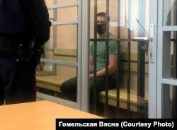 Дзьмітры Канеўскі ў судзе 28 траўня