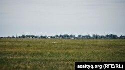Виды села Оразак. Акмолинская область, 11 июня 2021 года