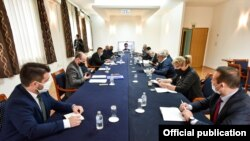Zajednička makedonsko-bugarska komisija o istorijskim i obrazovnim pitanjima, arhivska fotografija