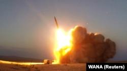 Փորձարկվում է Իրանի կողմից ստեղծված հրթիռը, 20-ը օգոստոսի, 2020թ.