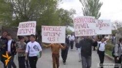Պռոշյանցիները պահանջում են ազատել «անմեղ» գյուղացիներին