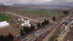 Drone Footage Shows Scale Of Sprawling Migrant Camp