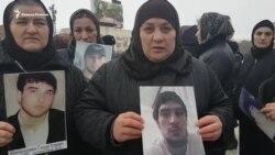 В Дагестане матери похищенных вышли на митинг