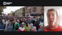 Гражданский активист из Гомеля Петр Кузнецов о столкновениях протестующих с силовиками