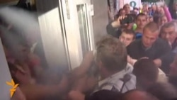 Mob In Ukraine Storms Police Station After Rape Incident