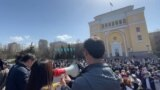 Hundreds Rally In Kazakhstan To Protest Growing Chinese Influence GRAB 4