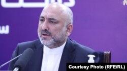 محمد حنیف اتمر وزیر خارجۀ افغانستان