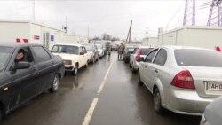 Донеччина. КПВВ «Майорське» розширюється (відео)