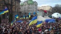 50-тысячный протест во Львове