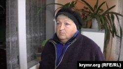 Людмила Фатина, жительница села Зеленогорское