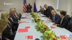 Tillerson Tells Lavrov To Honor Ukraine Commitments