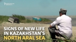 In Kazakhstan, Returning Aral Sea Brings Fish And Hope